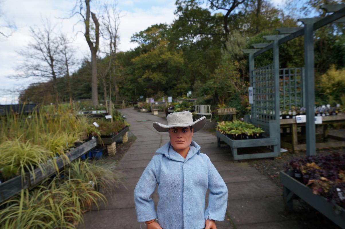 Random Action Man Photos at Hopton garden center. DSC00594