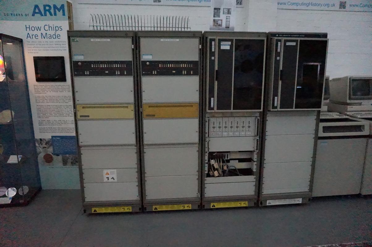 My MAM visiting  Cambridge Computer History Museum. 94_CE595_E-2_EDC-4_DC3-_A6_E3-8_D9_ABD9_DA2_A0