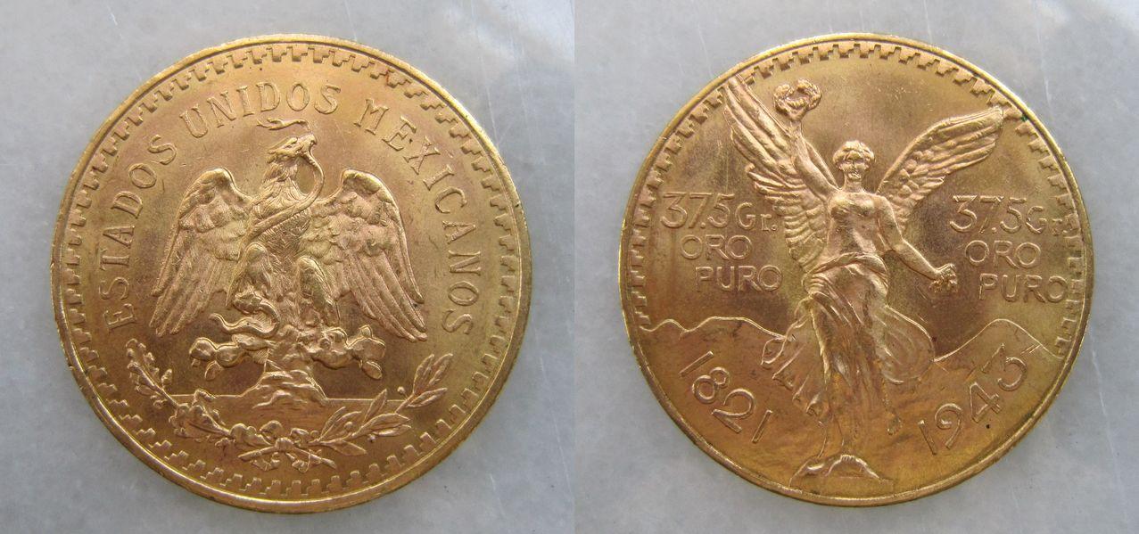 50 pesos 1943. México 50_pesos_1943_M_xico