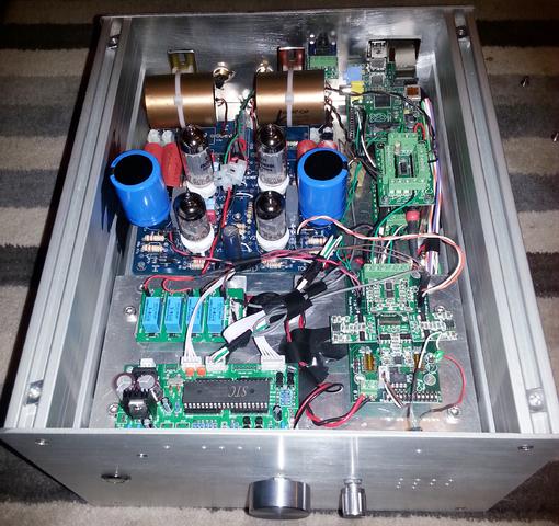 Realizzazione Buffalo IIIse: DAC/preamp con Unbalancer e Raspberry PI 20150514_032127