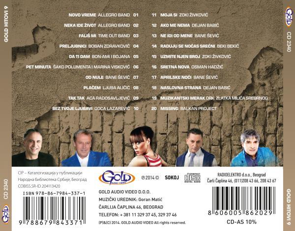 Albumi Narodne Muzike U 256kbps - 320kbps  - Page 17 Gold_Hitovi_2014_9_ZADNJA