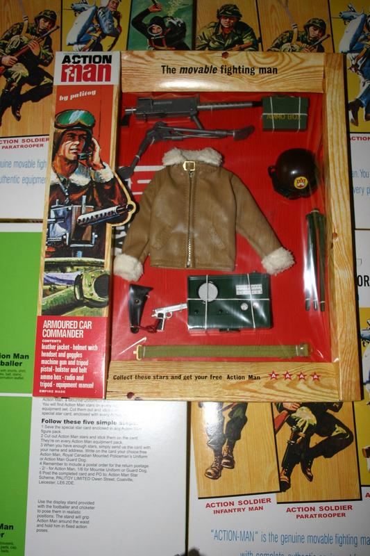 Action Man 40th Armoured Car Commander (+ extras) 60_3
