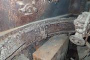 Танк КВ-1 изнутри (№ 9854), Ропша, Ленобласть. P6230192