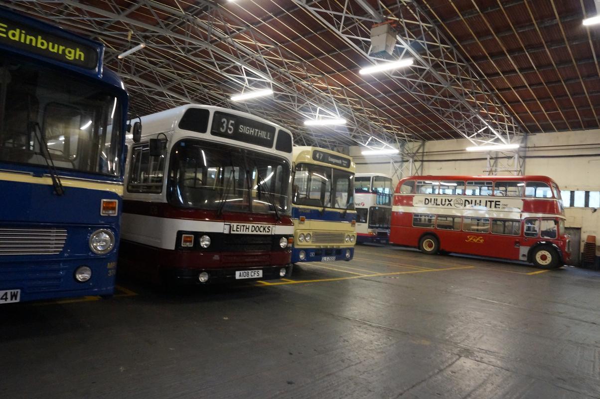 MAM visiting The Scottish Vintage Bus Museum. 01_B2_AB4_B-2481-4451-983_C-3_A87_A99_BD38_F