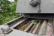 Танк КВ-1 изнутри (№ 9854), Ропша, Ленобласть. P6230358