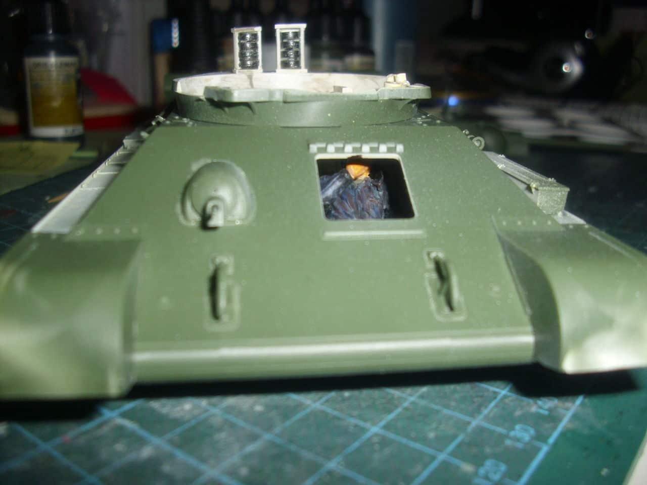 T-34/76 1943 early model. ICM 1/35 - Sida 4 DSCI0620
