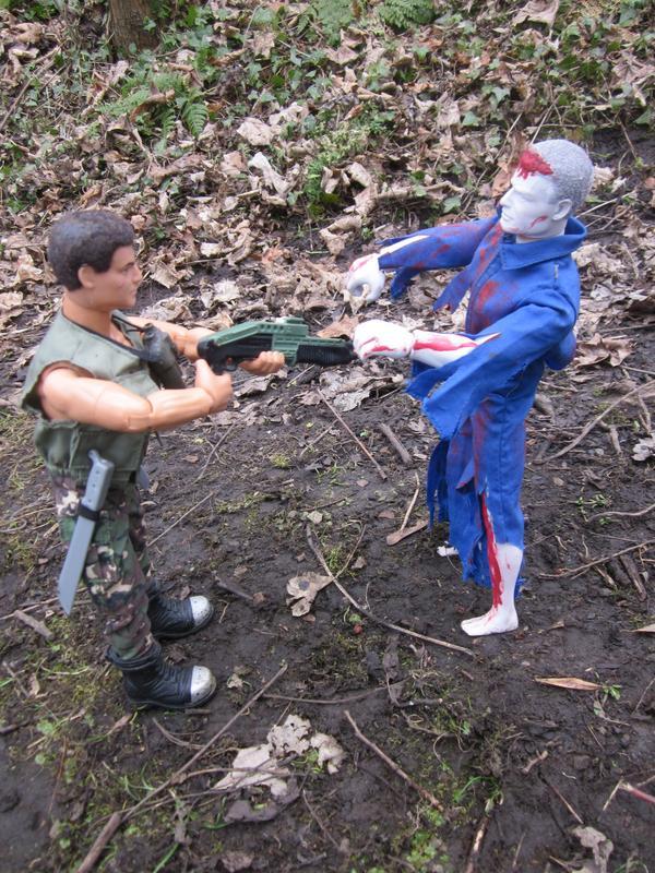 One Zombie Slayer vs one Zombie. (Ackie88) IMG_2323