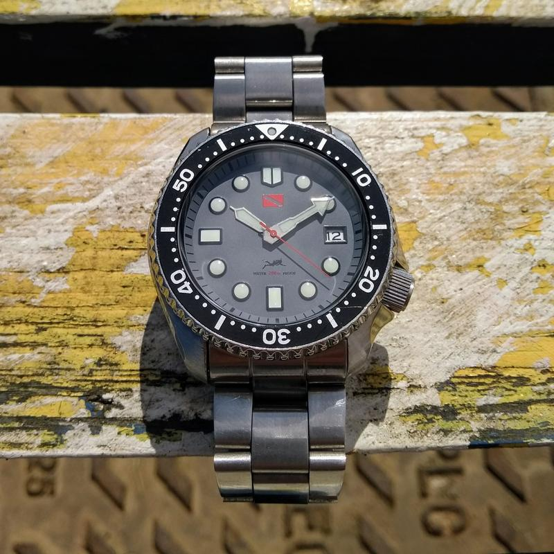 New dial and chapter ring for SKX007 (photo heavy) IMG_20180612_101053994