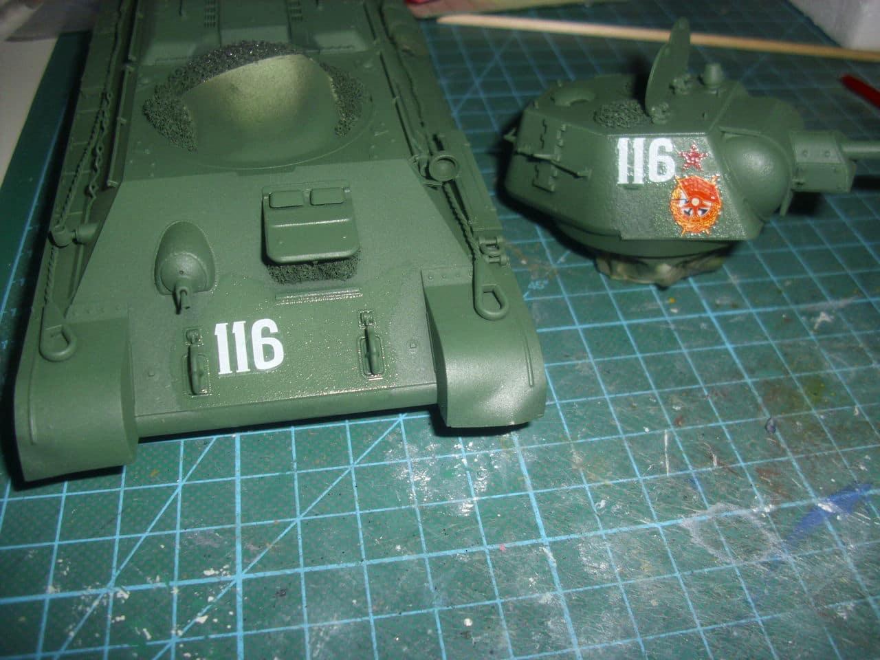 T-34/76 1943 early model. ICM 1/35 - Sida 4 DSCI0718