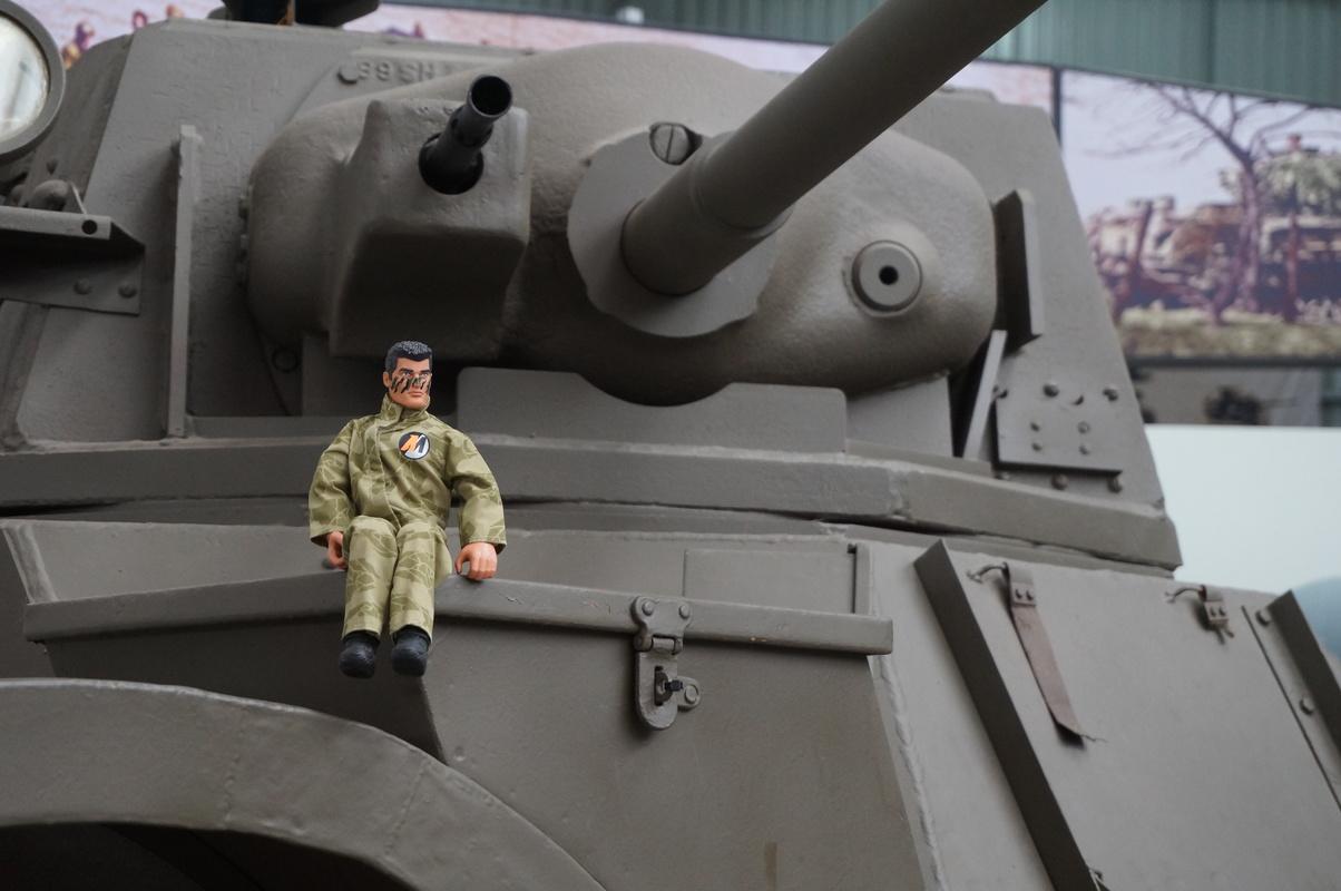 Action Man at Bovington Tank Museum 2016 photos. DSC01232