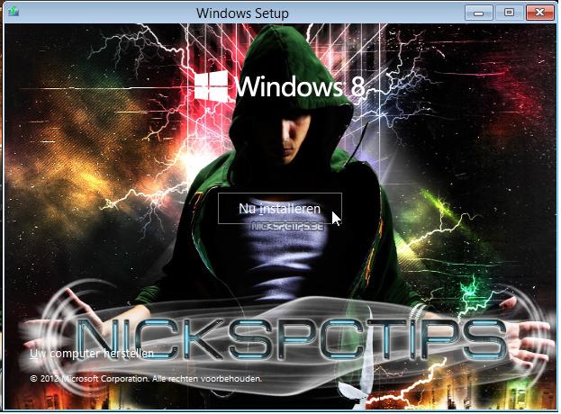 Windows 8 EN/NL Full activated Incl office 2013 1_install