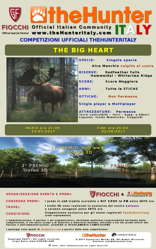 [CONCLUSA] Competizioni ufficiali TheHunteritaly - The Big Heart - Alce - The_big_one