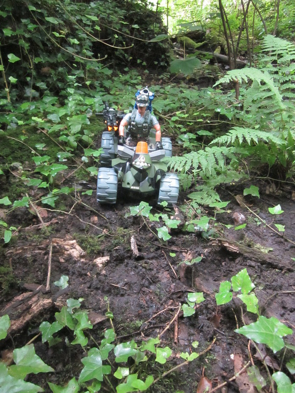 Action Man Quad Assault Woodland Random Photos. IMG_4336