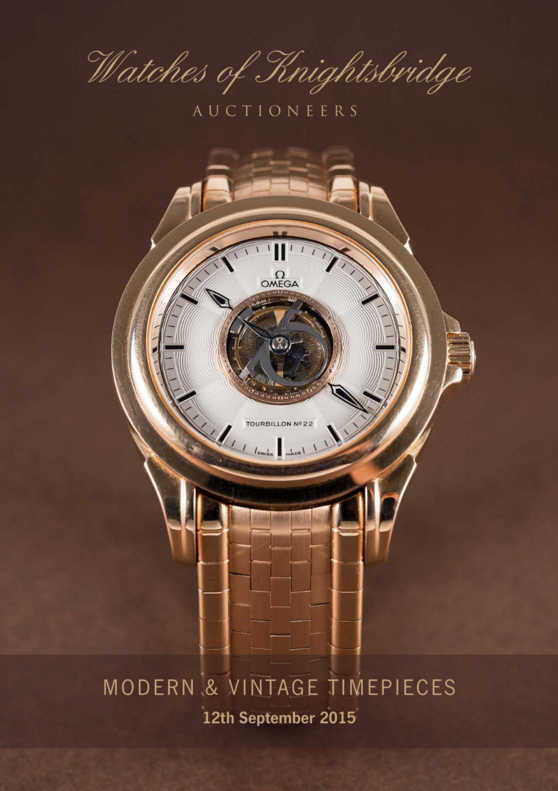 Catálogo - Watches of Knightsbridge: Modern and Vintage Timepieces – Setembro 2015 WOK_Modern_and_Vintage_Timepieces_120915