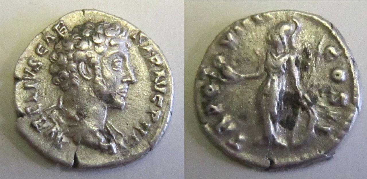 Denario de Marco Aurelio. TR POT VIIII COS II. Roma Denario_Marco_Aurelio_TR_POT_VIIII_COS_II