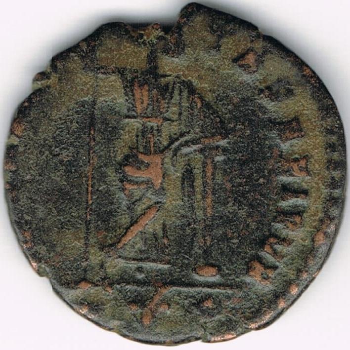 AE4 bajo imperio SECVRITAS REI PVB. Roma. 18b