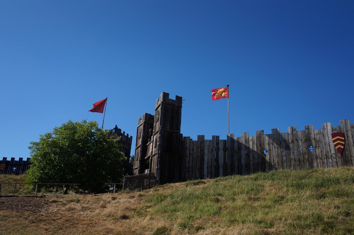 My MAM visiting Mountfitchet Castle. 93_A2578_D-583_F-4_BB2-822_B-42469612568_A