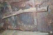 Танк КВ-1 изнутри (№ 9854), Ропша, Ленобласть. P6230325