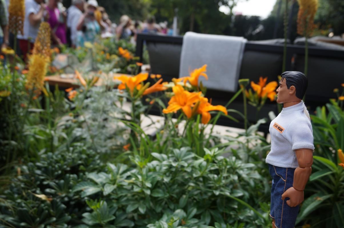 My Mam visiting Hampton Court flower show.  0_B455_FE5-03_B9-4_D9_F-_A010-_CC148_B5_C531_C