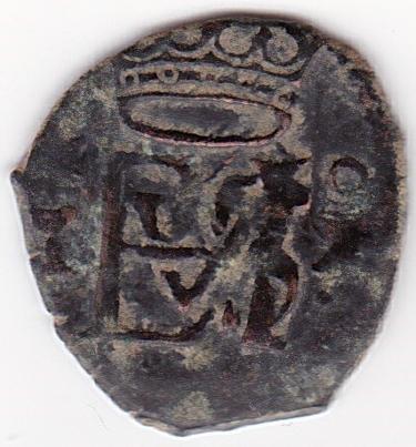 Felipe II Blanca Ceca de Cuenca. Es32a