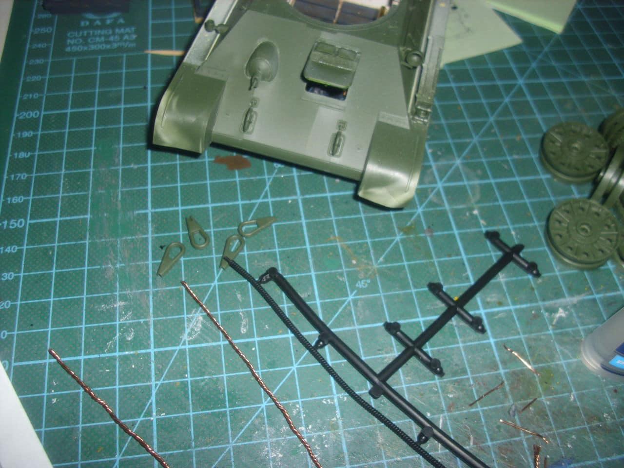 T-34/76 1943 early model. ICM 1/35 - Sida 4 DSCI0639