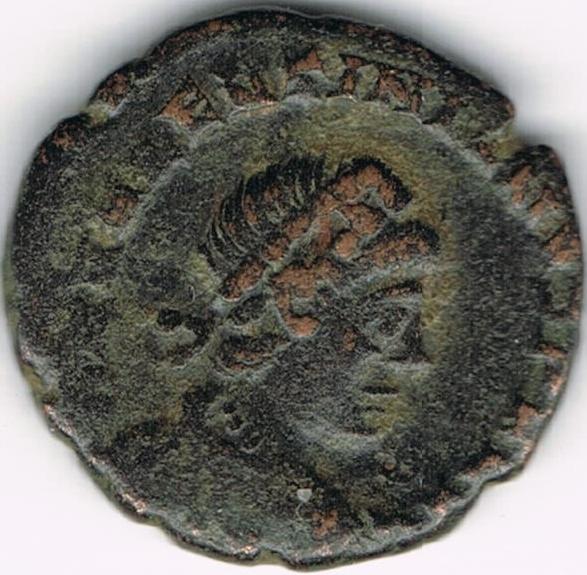 AE4 de Valentiniano II. SALVS REI PVBLICAE IR2_A