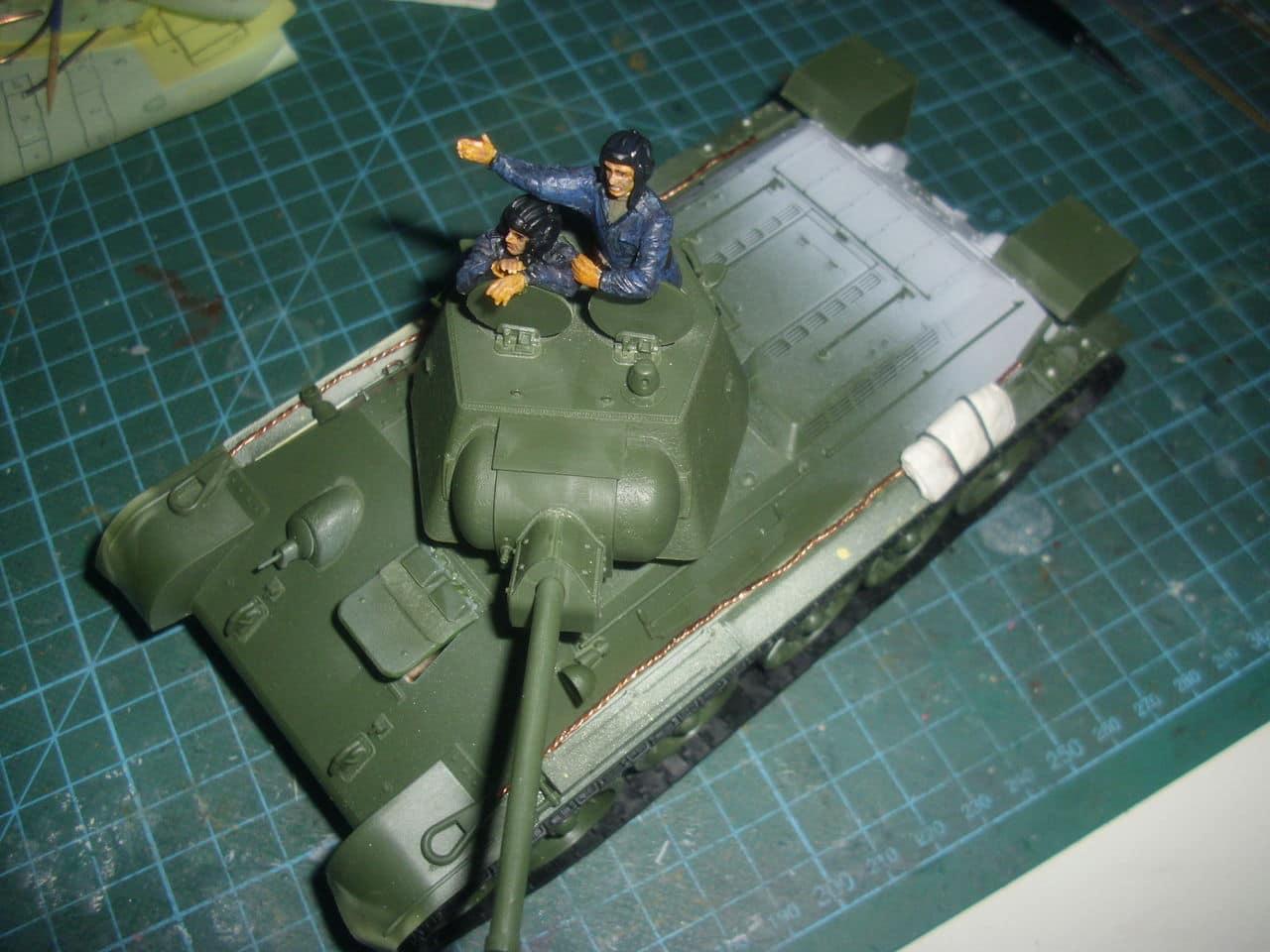 T-34/76 1943 early model. ICM 1/35 - Sida 4 DSCI0661