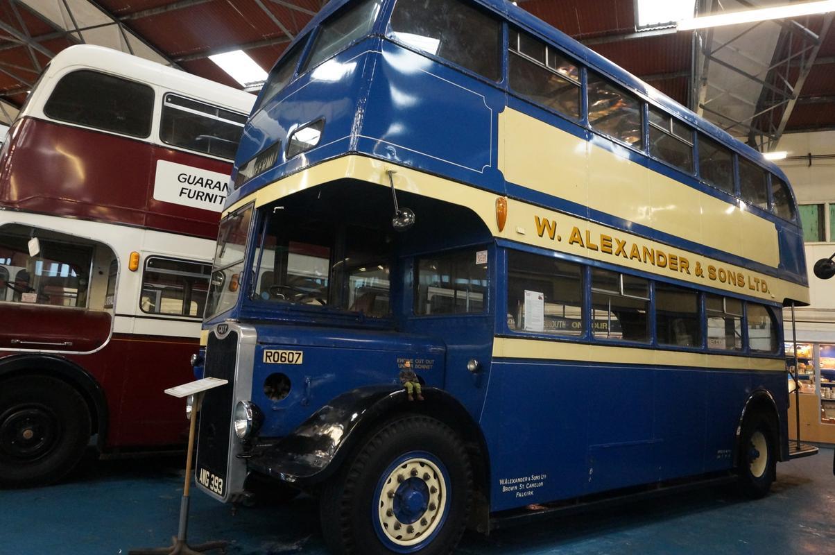 MAM visiting The Scottish Vintage Bus Museum. 4_B3_F2404-_C114-4550-949_C-_D1_DE94_B4_CF7_B