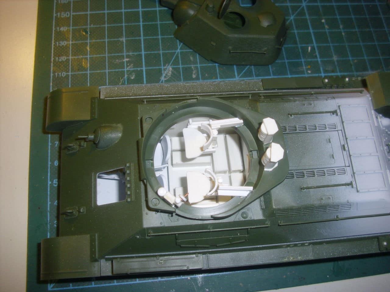 T-34/76 1943 early model. ICM 1/35 - Sida 3 DSCI0551