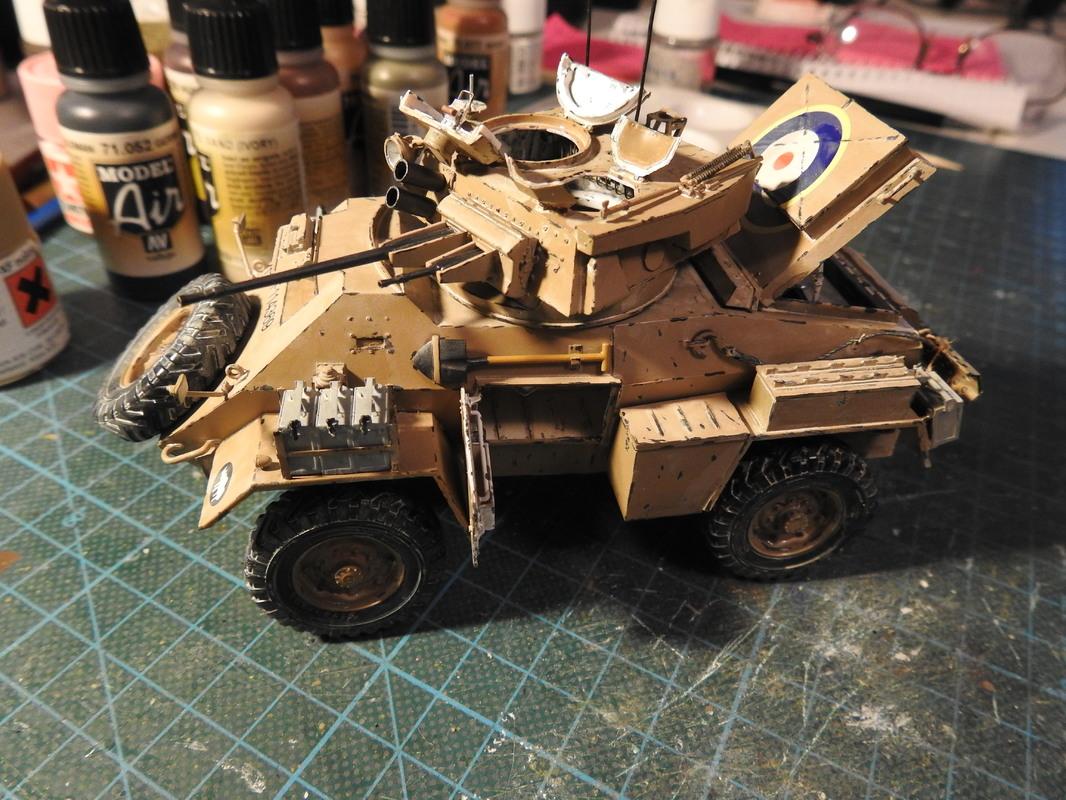 Humber Mark II, Bronco 1/35 - Sida 9 DSCN3597