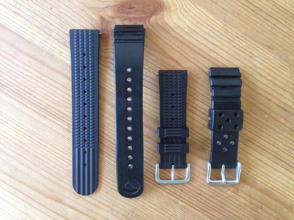 Uncle Seiko Waffle Strap — Para os divers Seiko IMG_7630
