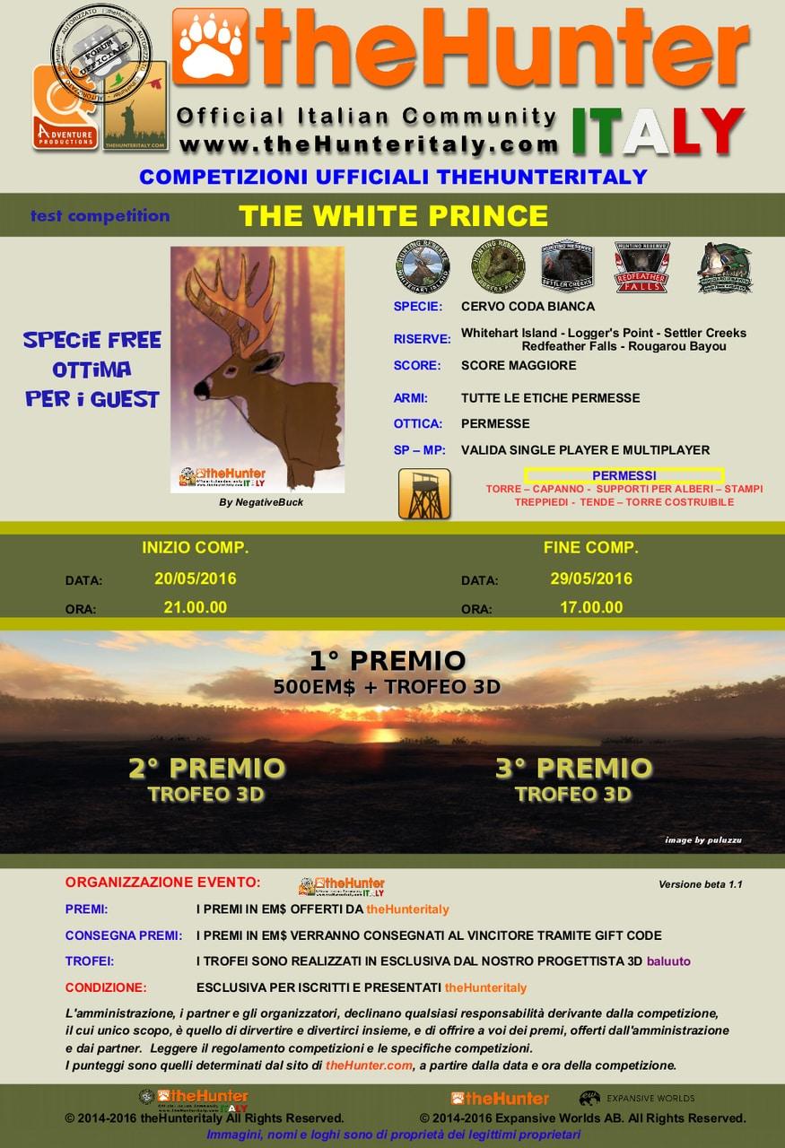 [CONCLUSA] Competizioni ufficiali TheHunteritaly - The White Prince - Cervo Coda Bianca THE_WHITE_PRINCE_beta3