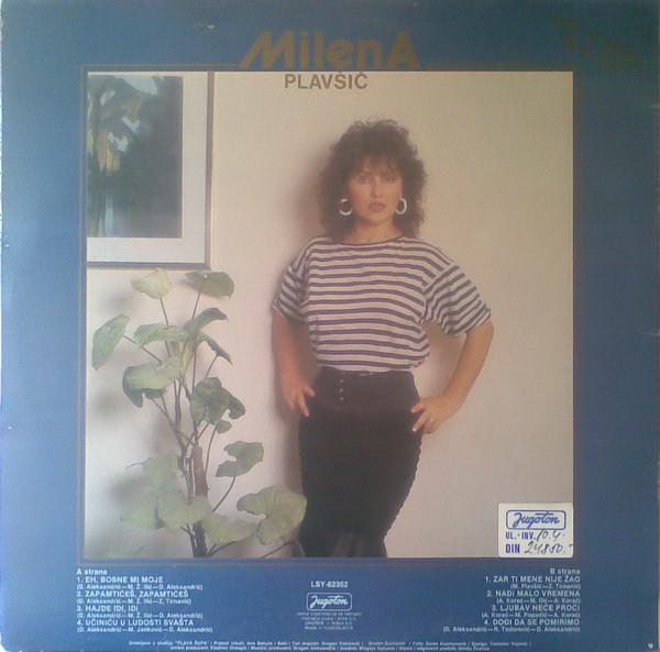 Milena Plavsic - Diskografija Milena_Plavsic_1988_Zapamtices_zapamtices_ZAD