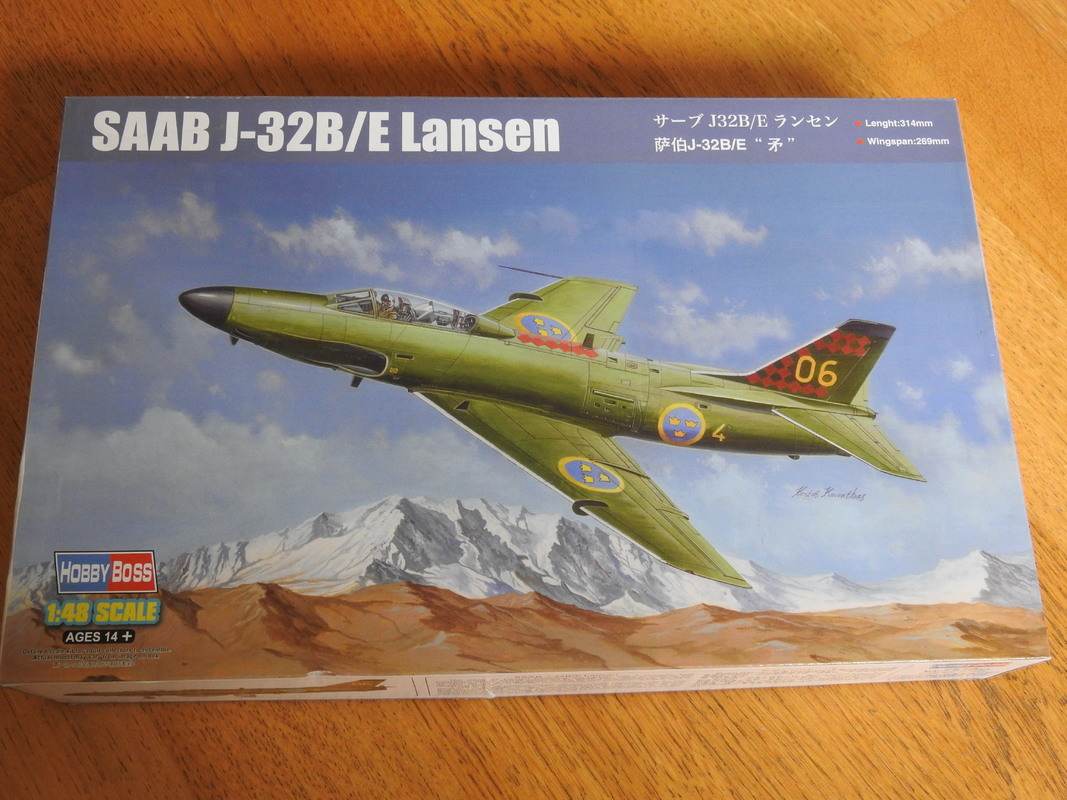 Saab J-32B/E Lansen - HobbyBoss 1:48 DSCN4977