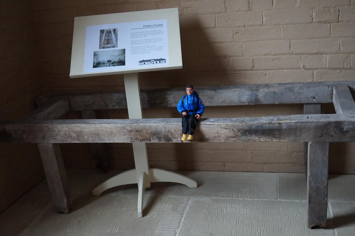 My Modern Action Man visiting  Southwell Workhouse DSC00179