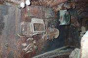 Танк КВ-1 изнутри (№ 9854), Ропша, Ленобласть. P6230193