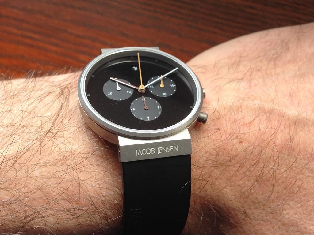 [Vendo] Relógio Jacob Jensen Chronograph 600 Titanio - Quase Novo 2_IMG_5961