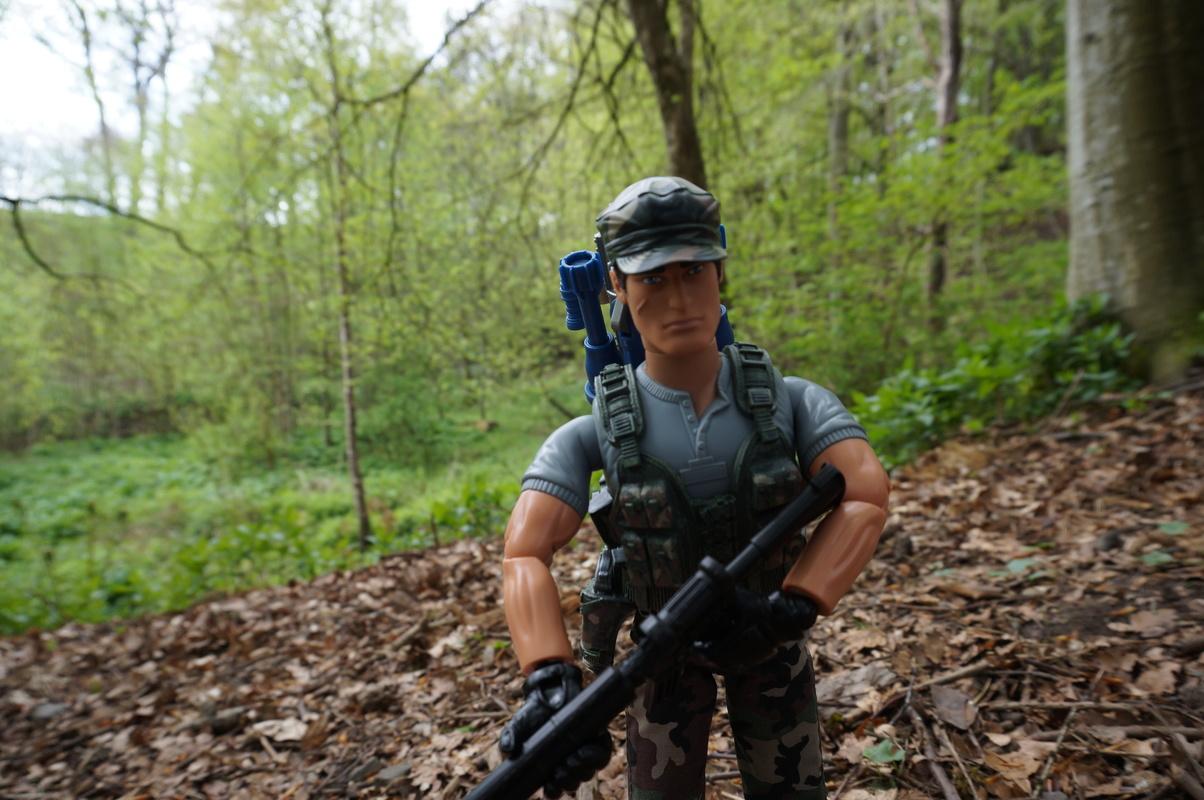 My Action Man Mortar Combat Mission Raid Random Woodland Photos DSC00692