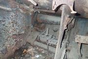 Танк КВ-1 изнутри (№ 9854), Ропша, Ленобласть. P6230103