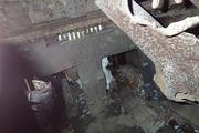 Танк КВ-1 изнутри (№ 9854), Ропша, Ленобласть. P6230317