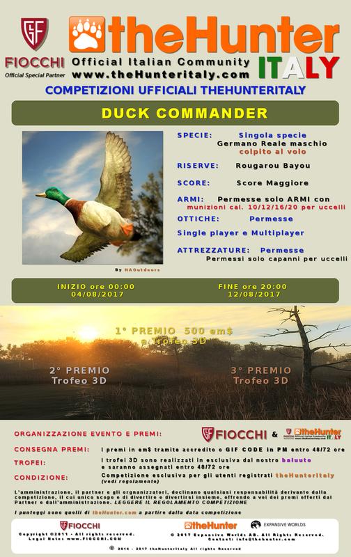 [CONCLUSA] Competizioni ufficiali TheHunteritaly - Duck Commander - Germano Reale - DUCK_COMMANDER_manifesto