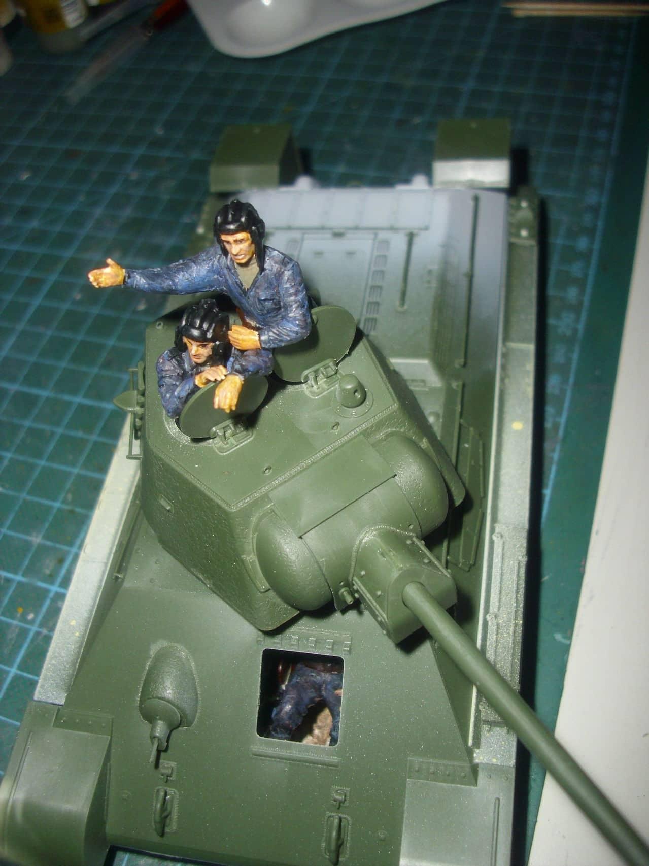 T-34/76 1943 early model. ICM 1/35 - Sida 4 DSCI0628