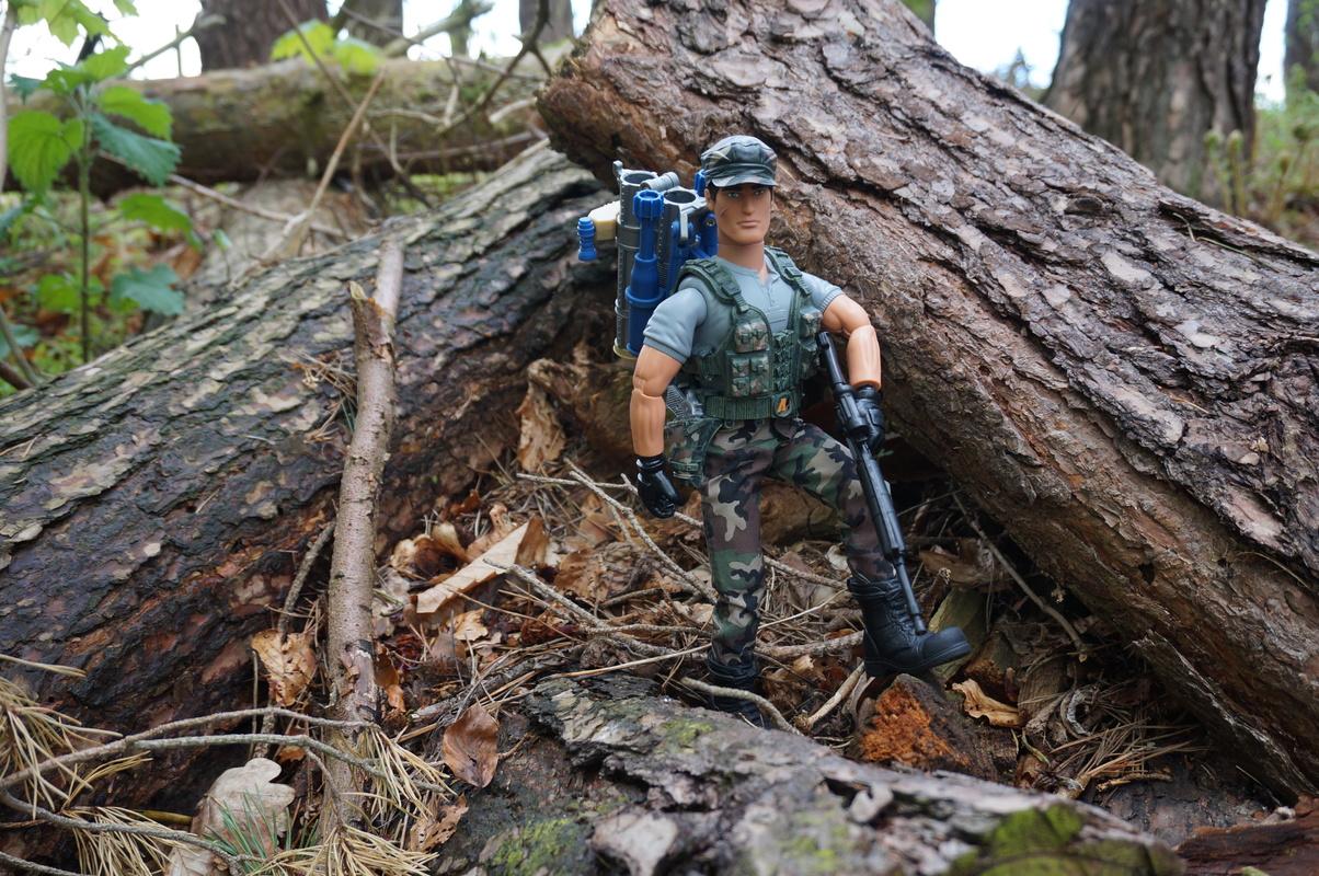 My Action Man Mortar Combat Mission Raid Random Woodland Photos DSC00695