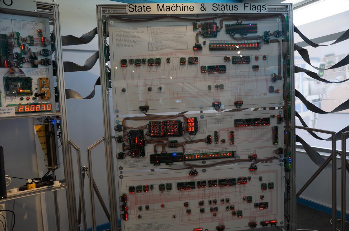 My MAM visiting  Cambridge Computer History Museum. 4_E428521-41_F5-45_A8-_BAF2-_A9946_C0_BC5_B4