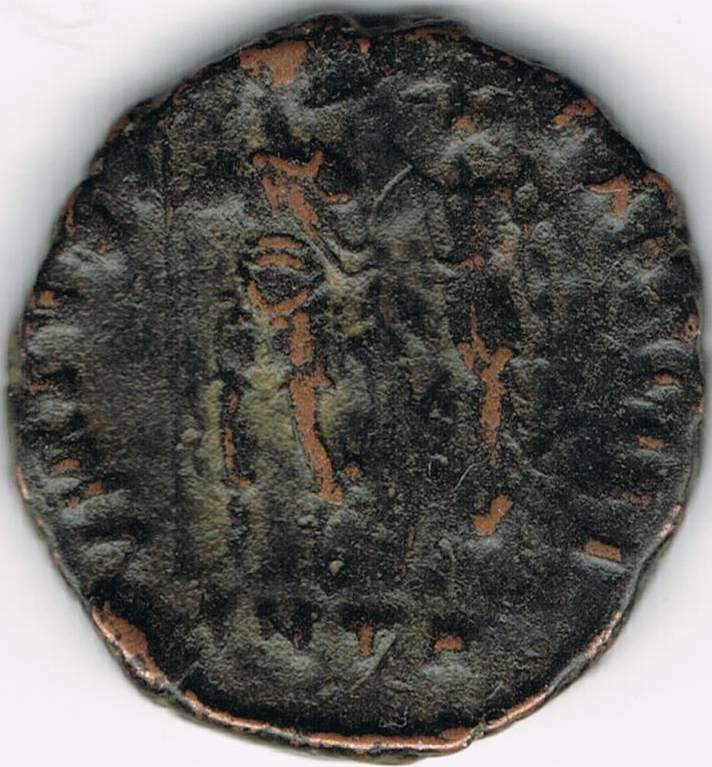 AE3 bajo imperio tipo VIRTVS EXERCITI. Antioquía. 22b