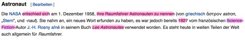 Die Erde, in der wir leben und der Raum, der die Welt ist - Seite 21 Astronaut