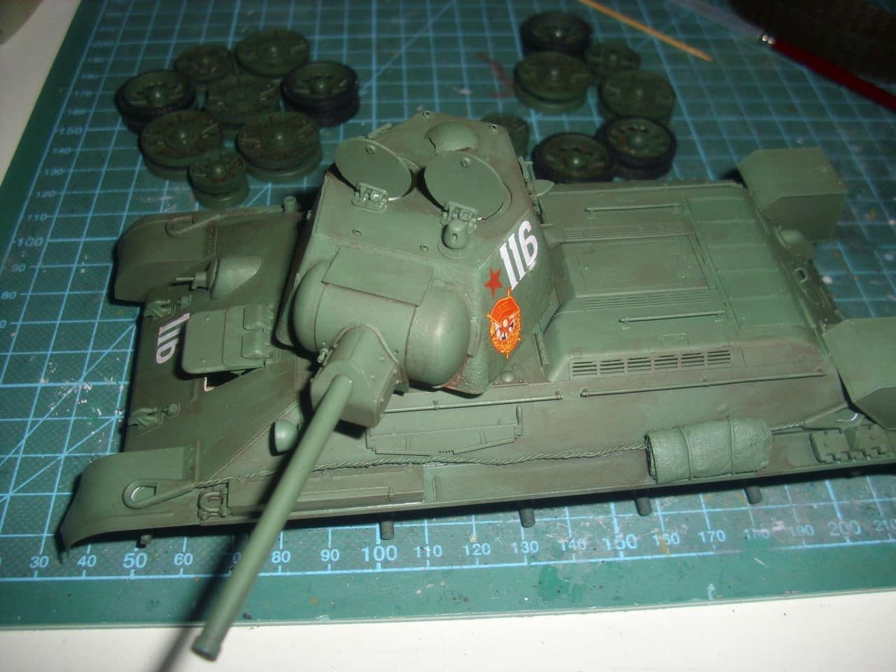 T-34/76 1943 early model. ICM 1/35 - Sida 4 DSCI0735