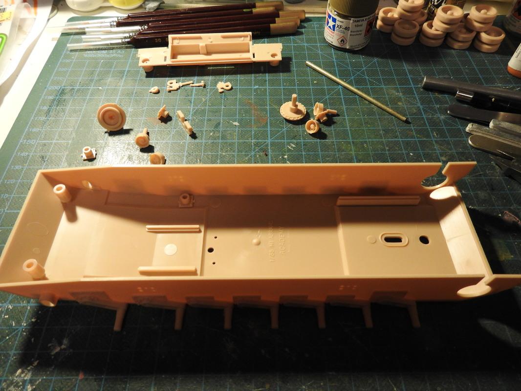 M1A1 Abrams 1/35 - Academy DSCN3788
