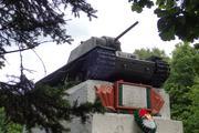 Танк КВ-1 изнутри (№ 9854), Ропша, Ленобласть. P6230362