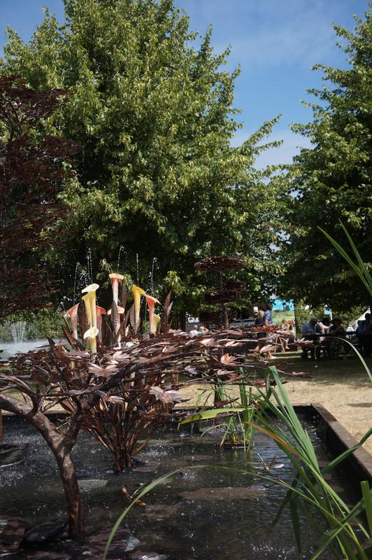 My Mam visiting Hampton Court flower show.  187_AAADB-_FB7_F-40_F9-9_C22-_AE1_AB454_E23_B